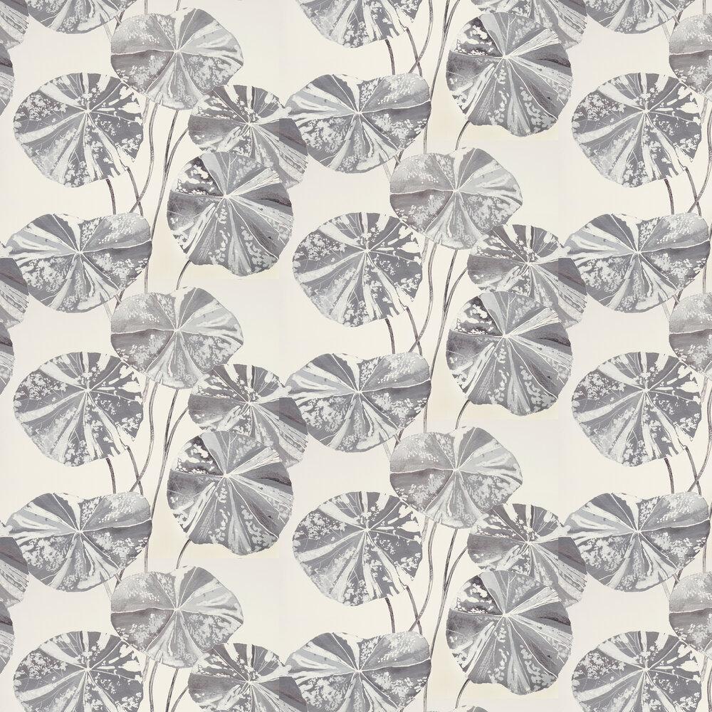 Brahmi Wallpaper - Zinc - by Designers Guild