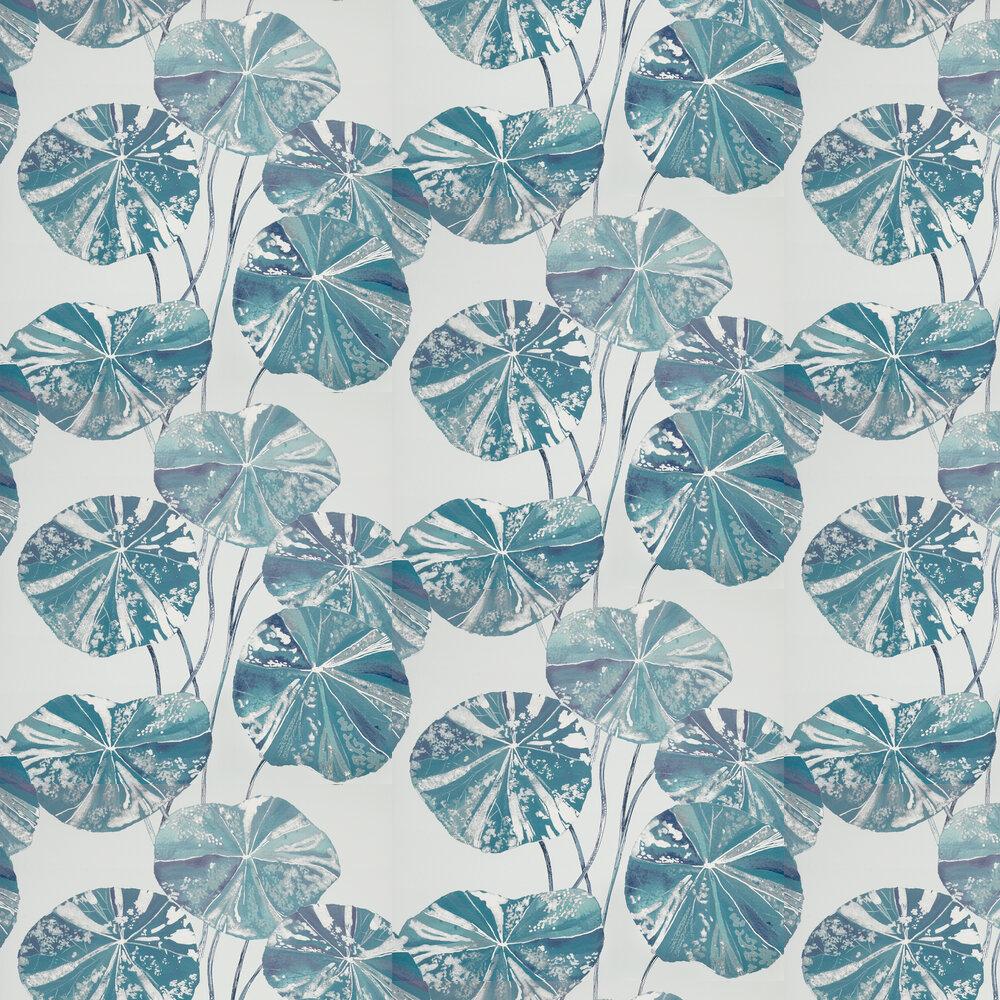 Brahmi Wallpaper - Teal - by Designers Guild