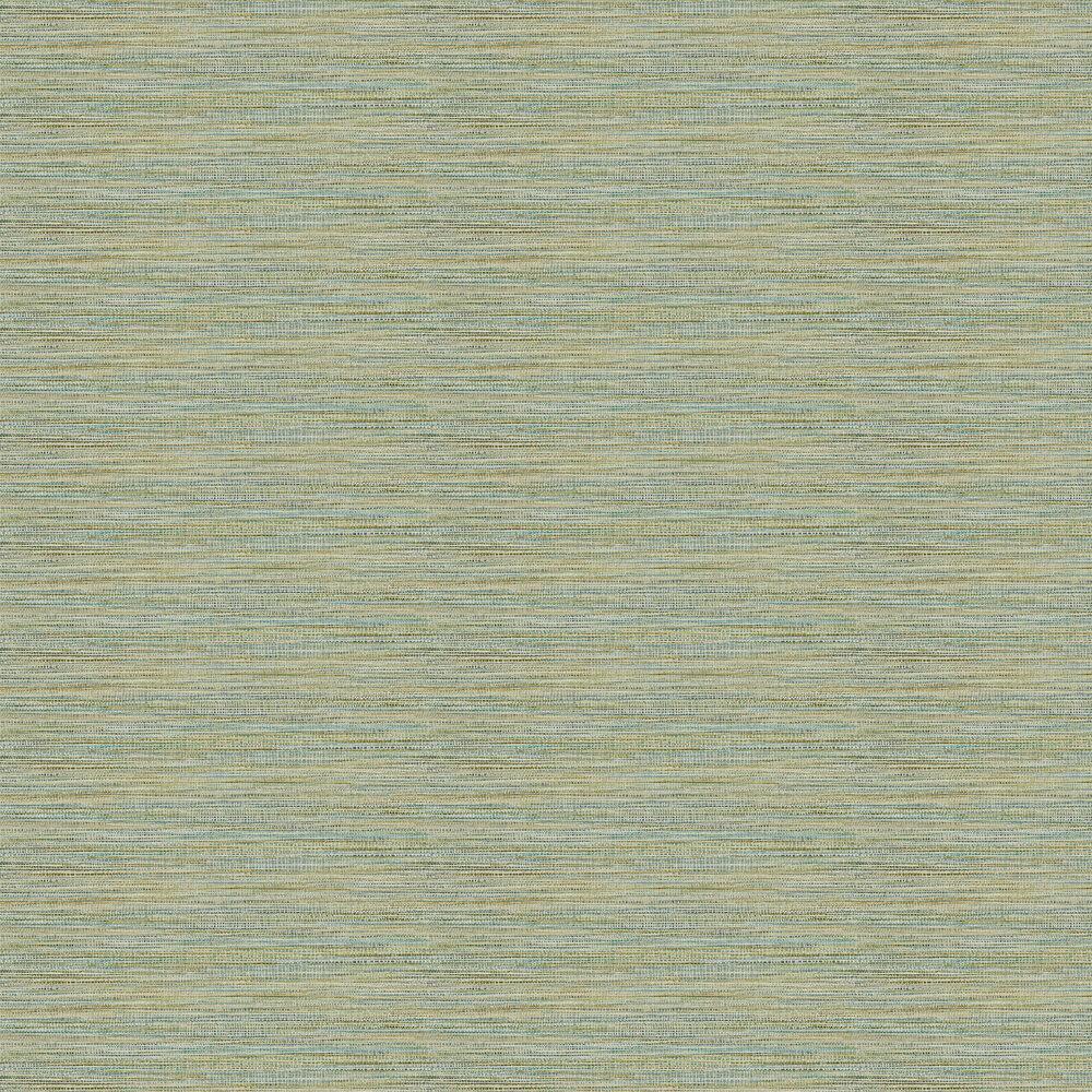 Affinity Wallpaper - Marine / Zest - by Harlequin