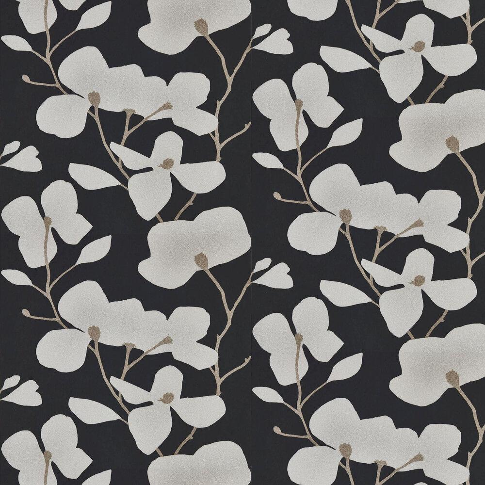 Kienze Wallpaper - Steel / Graphite - by Harlequin