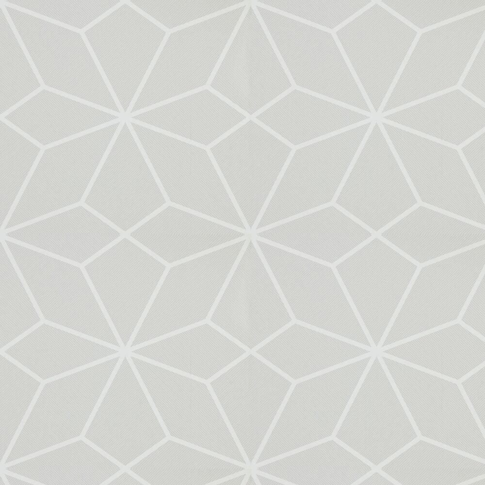 Axal Wallpaper - Chalk - by Harlequin