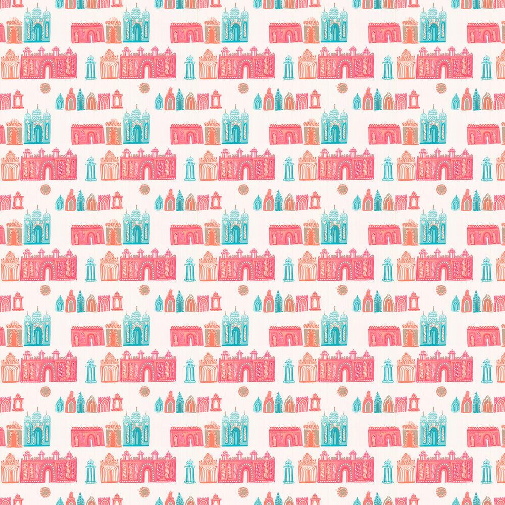 Pink City Wallpaper - by Villa Nova