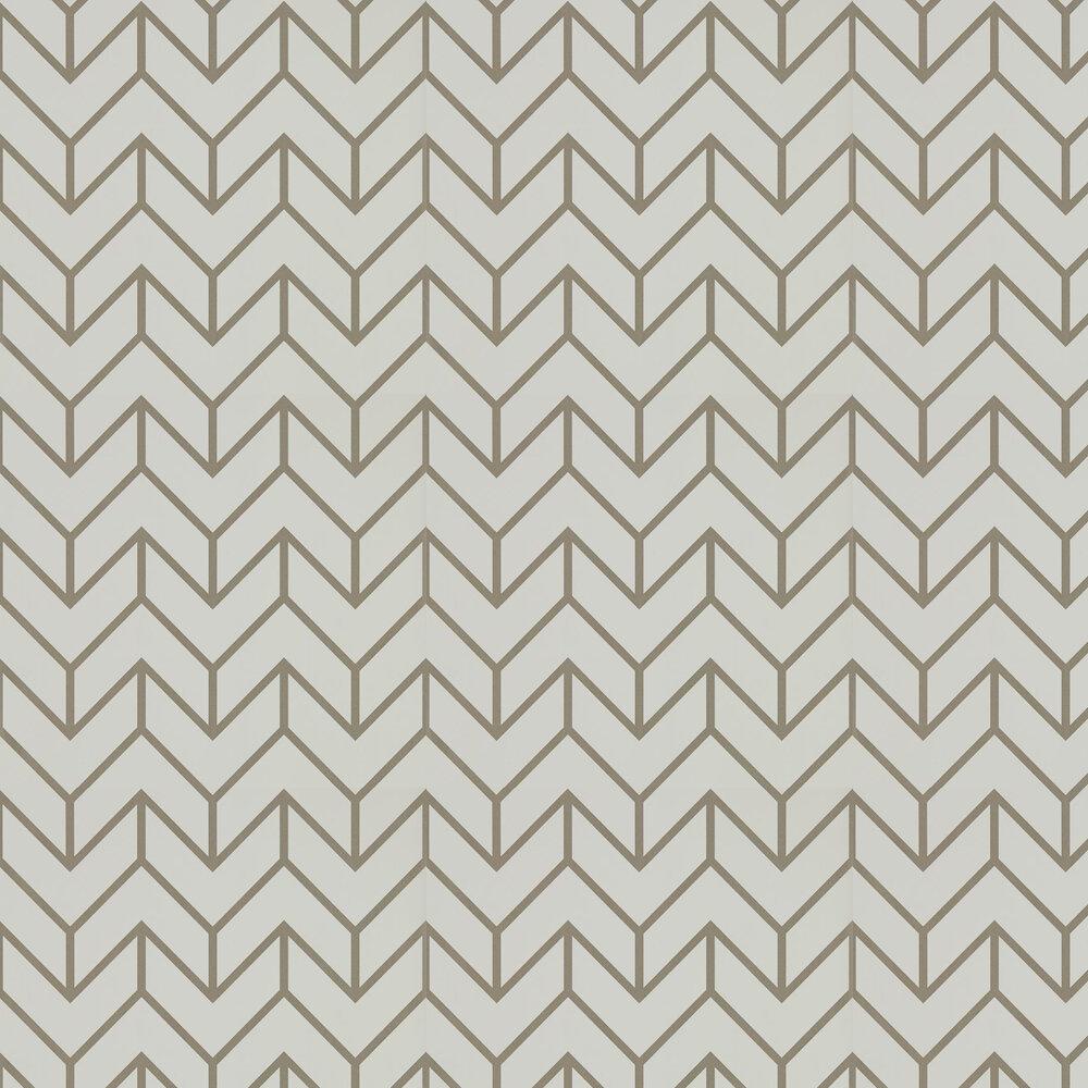 Tessellation Wallpaper - Slate / Chalk - by Harlequin