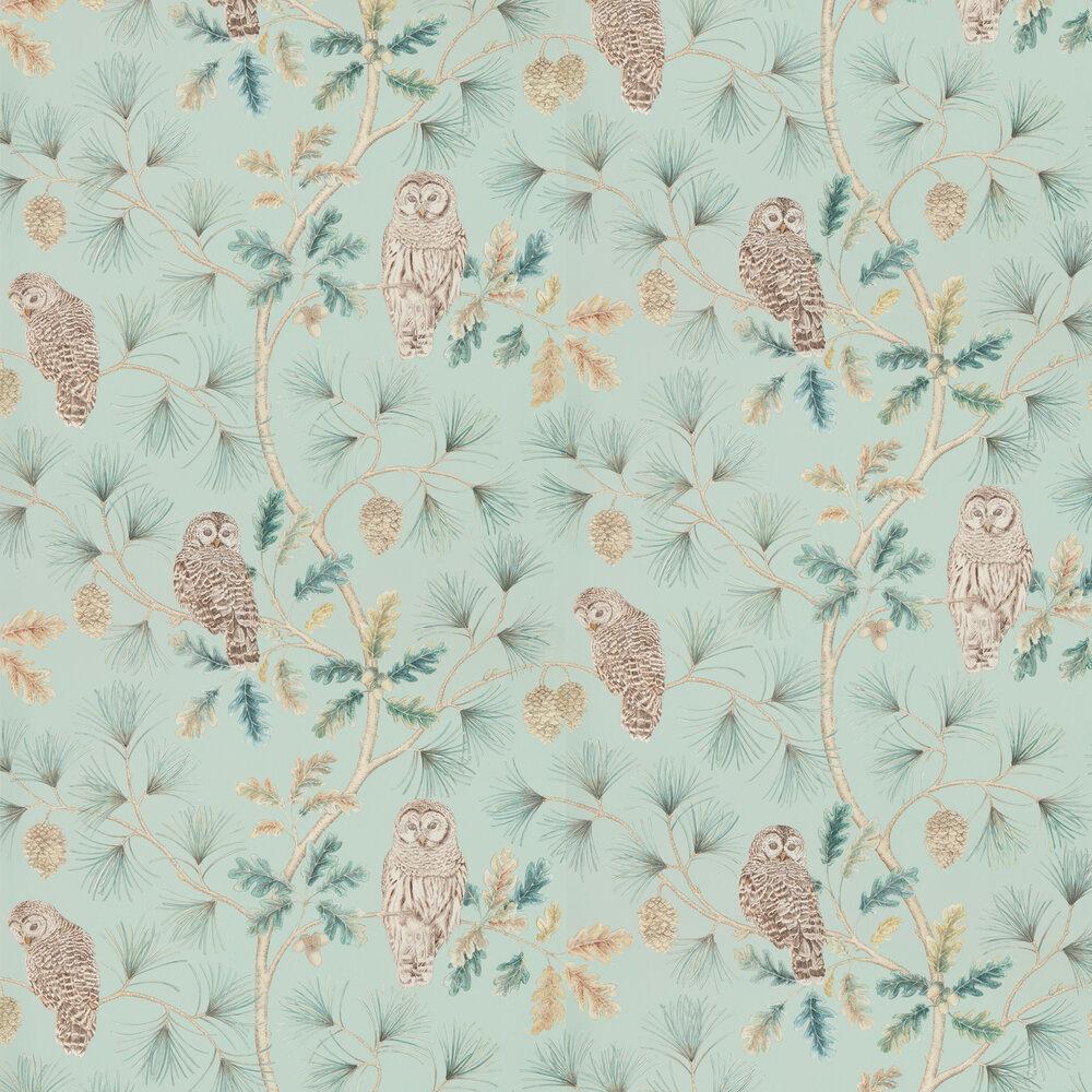 Owlswick Wallpaper - Whitstable Blue - by Sanderson