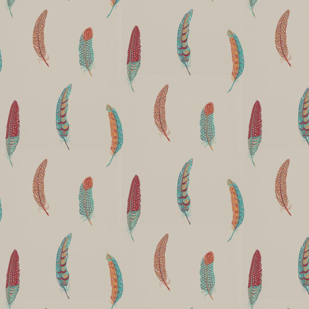 Lismore Wallpaper - Russet - by Sanderson