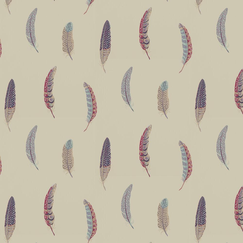 Lismore Wallpaper - Fig - by Sanderson