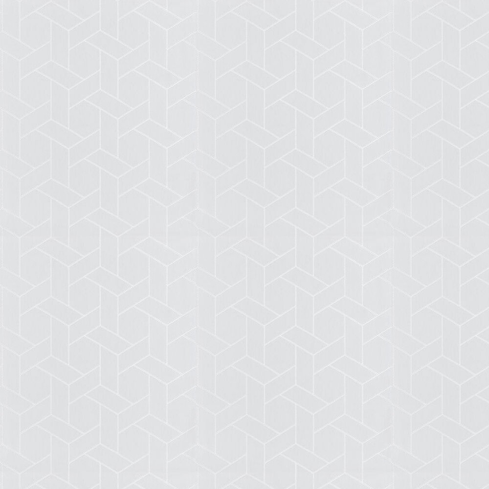 Focale Wallpaper - Light Grey - by Casadeco