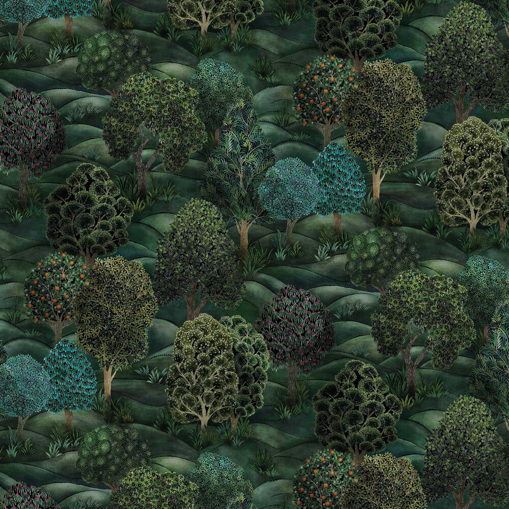 Cole & Son Forest  Forest Greens Wallpaper - Product code: 115/9028