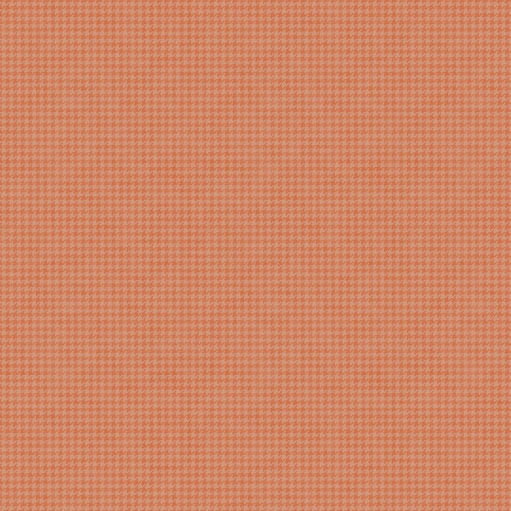 Camden Wallpaper - Muted Orange - by Casadeco