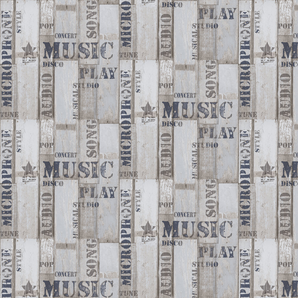 Galerie City Panelling Grey Wallpaper - Product code: 5633