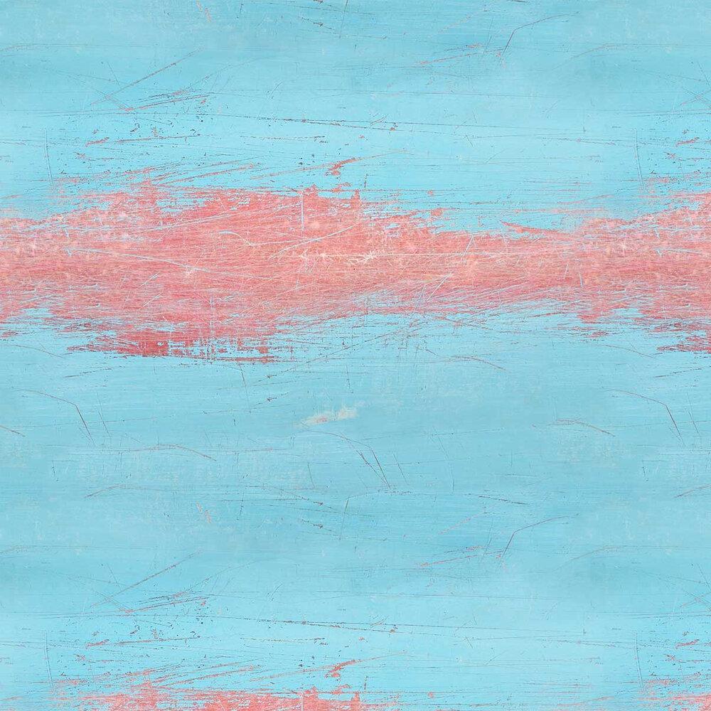Azure Skate Wallpaper - Blue - by Ella Doran