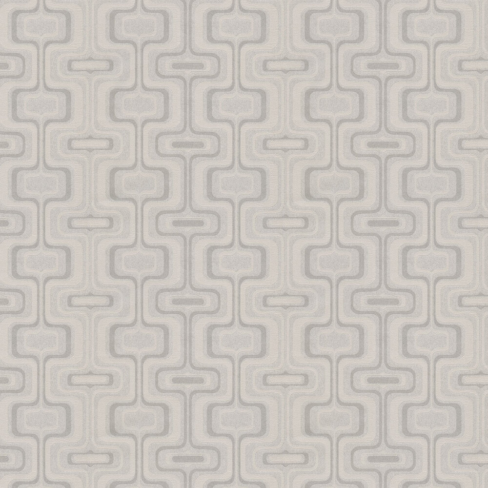 San Remo Wallpaper - Grey - by Albany