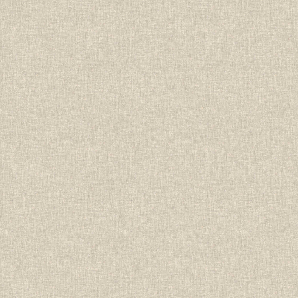 Linen Texture Wallpaper - Natural - by Arthouse