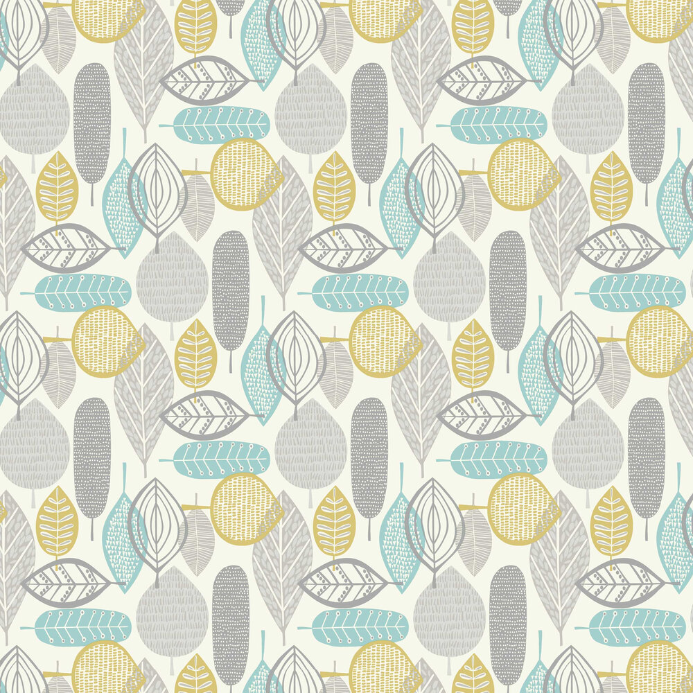 Malmo Wallpaper - Teal - by Arthouse