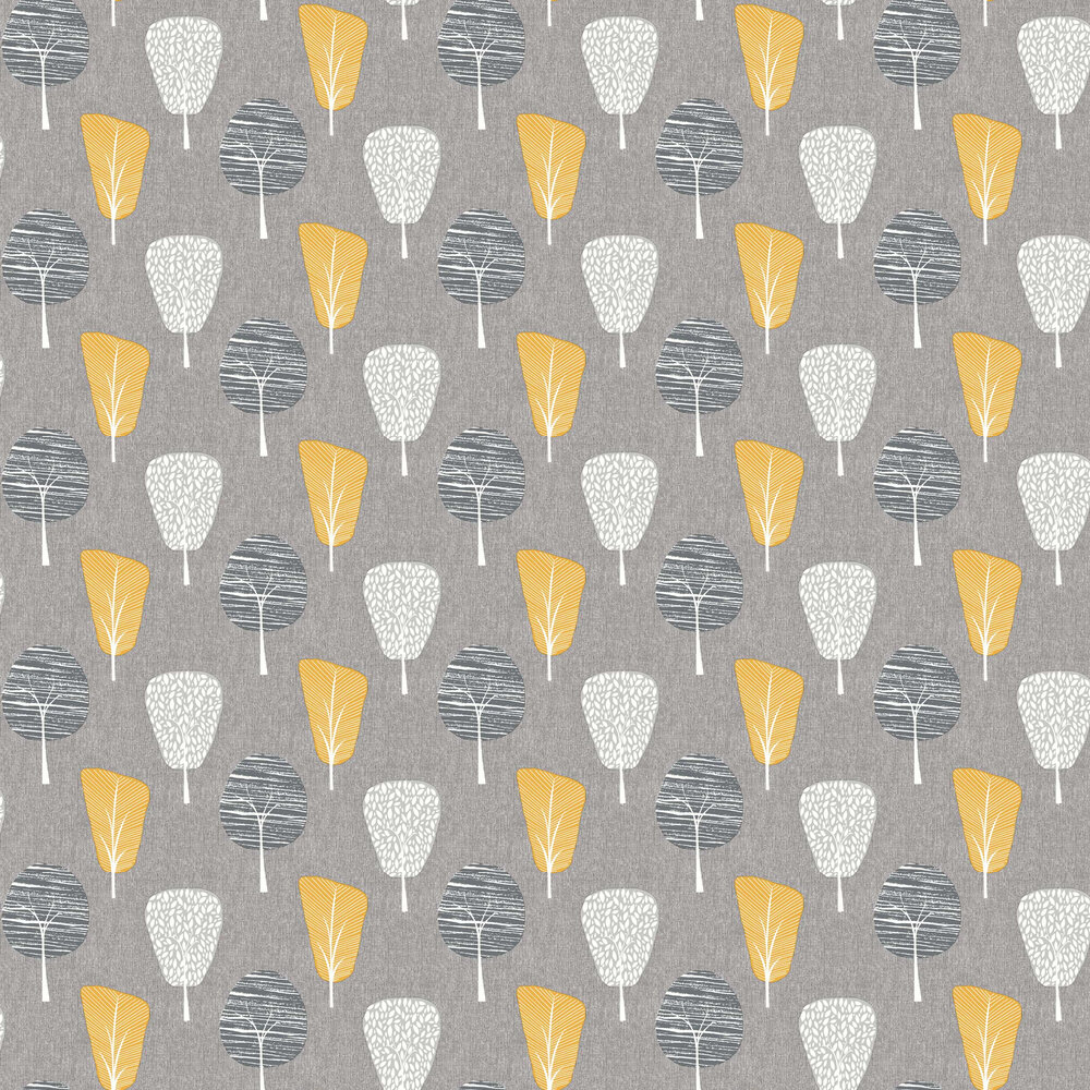 Arthouse Retro Tree Ochre Wallpaper - Product code: 902309