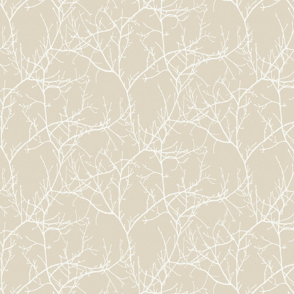 Casadeco Arbre Beige Wallpaper - Product code: 81711120