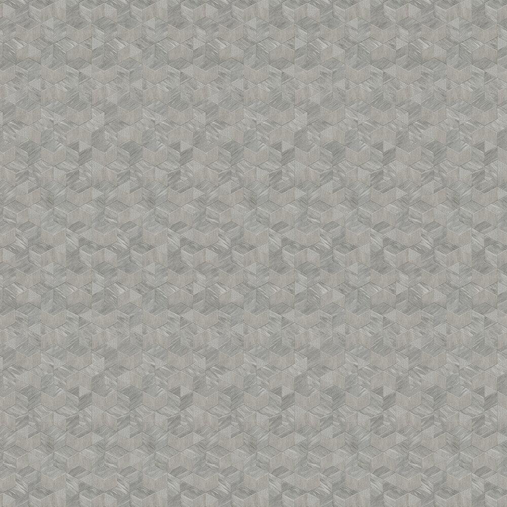 Verdi Wallpaper - Steel Grey - by Albany