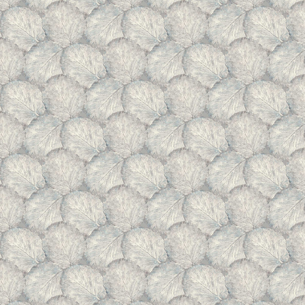 Beech Leaf Wallpaper - Dove Grey - by Arthouse