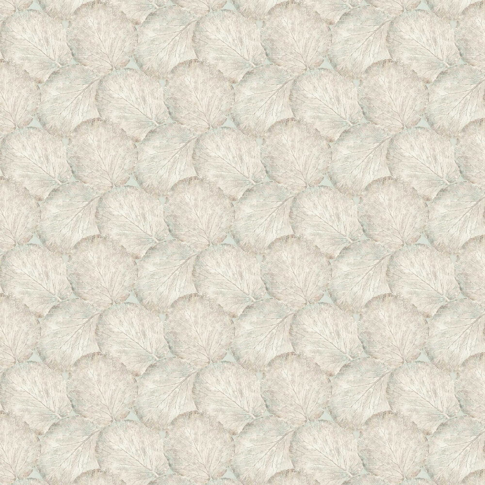 Beech Leaf Wallpaper - Sage Green - by Arthouse