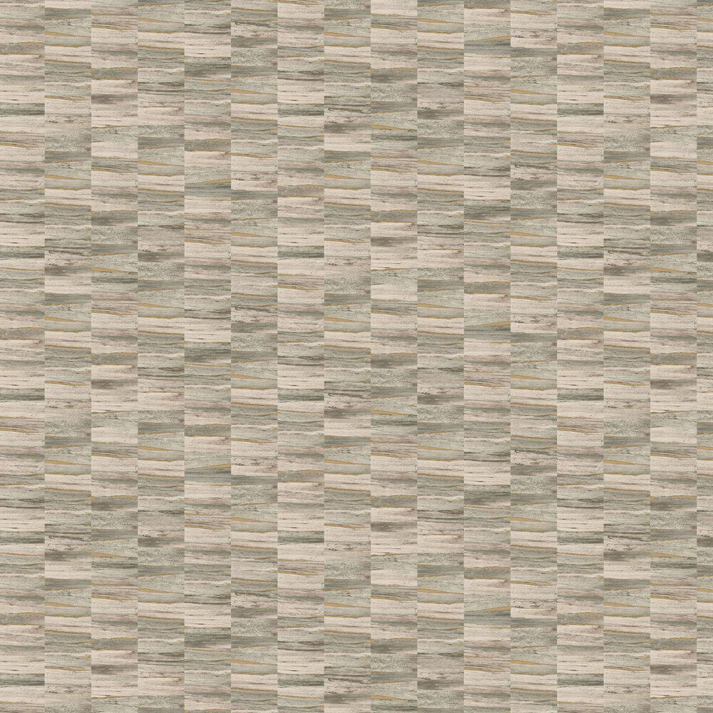 Albany Metallic Wood Green and Gold Wallpaper - Product code: CB41005