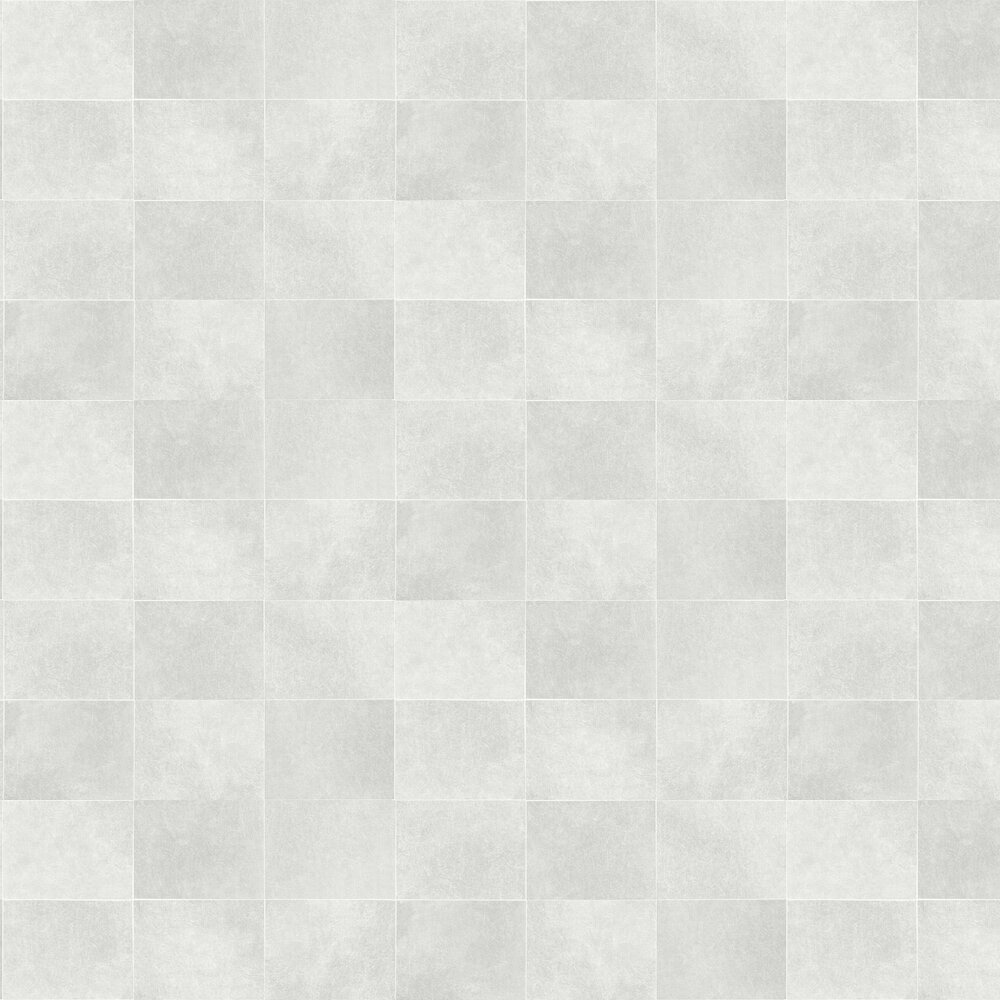 Fibrous Blocks Wallpaper - Light Grey - by Albany