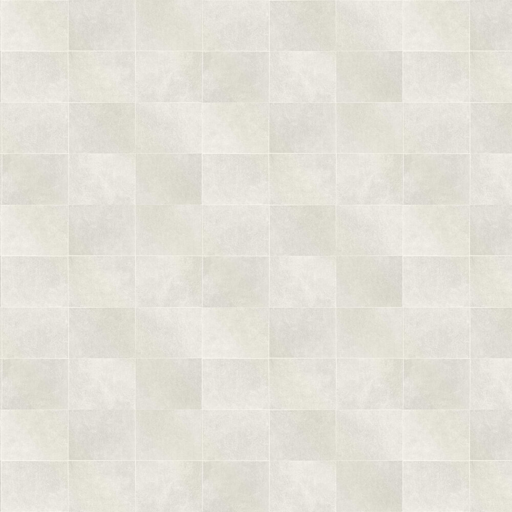 Fibrous Blocks Wallpaper - Warm White - by Albany