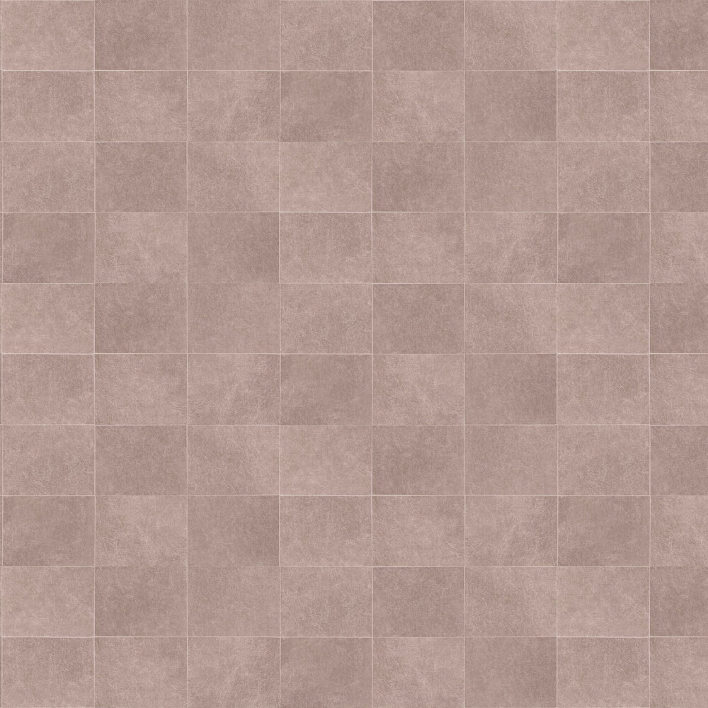 Fibrous Blocks Wallpaper - Rose Gold - by Albany