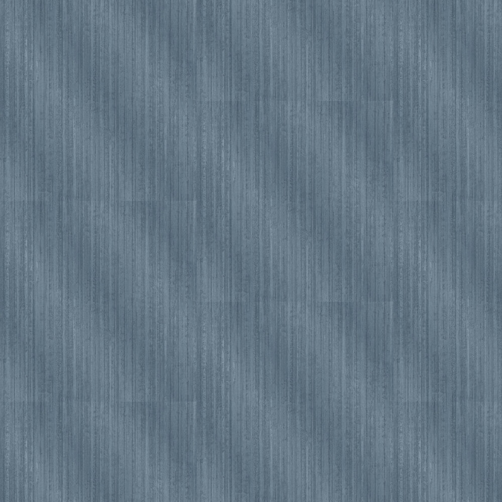 Vertical Metal Wallpaper - Blue - by Albany
