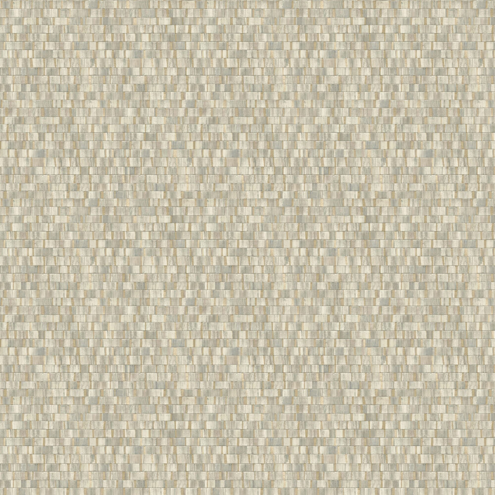 Albany Small Metallic Wood Dark Green Wallpaper - Product code: CB41059