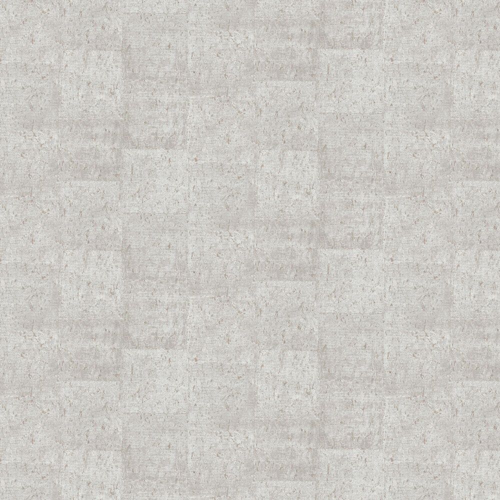 Large Cork Wallpaper - Light Grey - by Albany