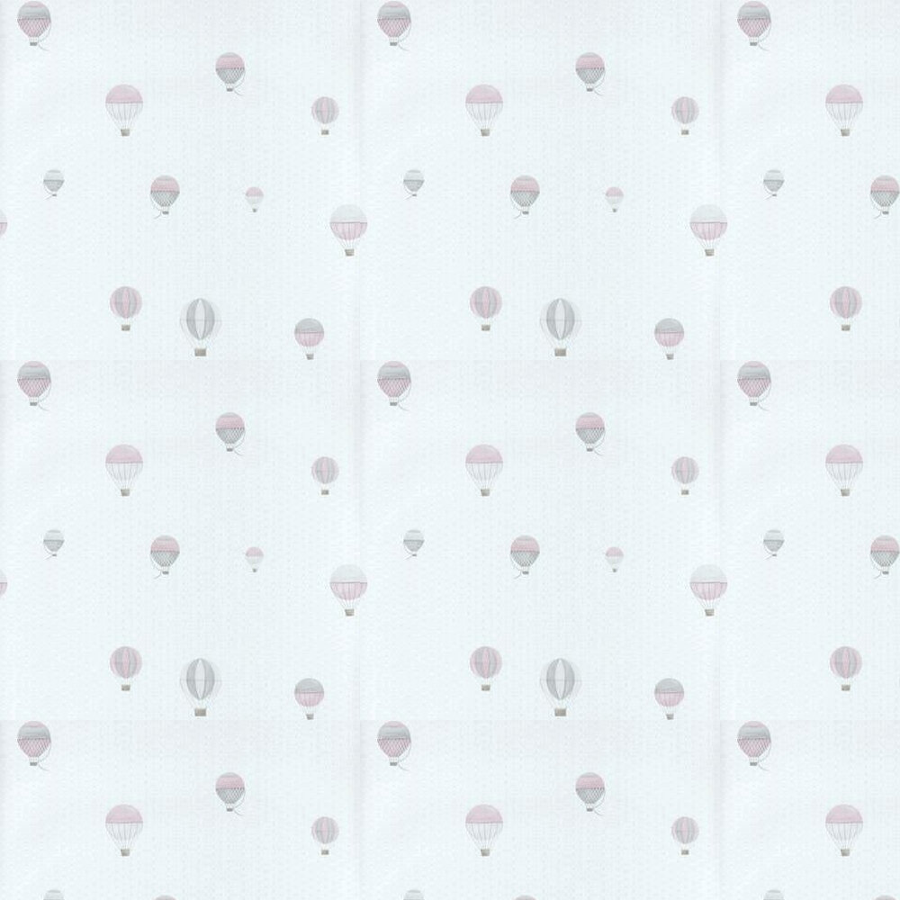 Casadeco Air Balloon Off White and Pink Wallpaper - Product code: 29774314