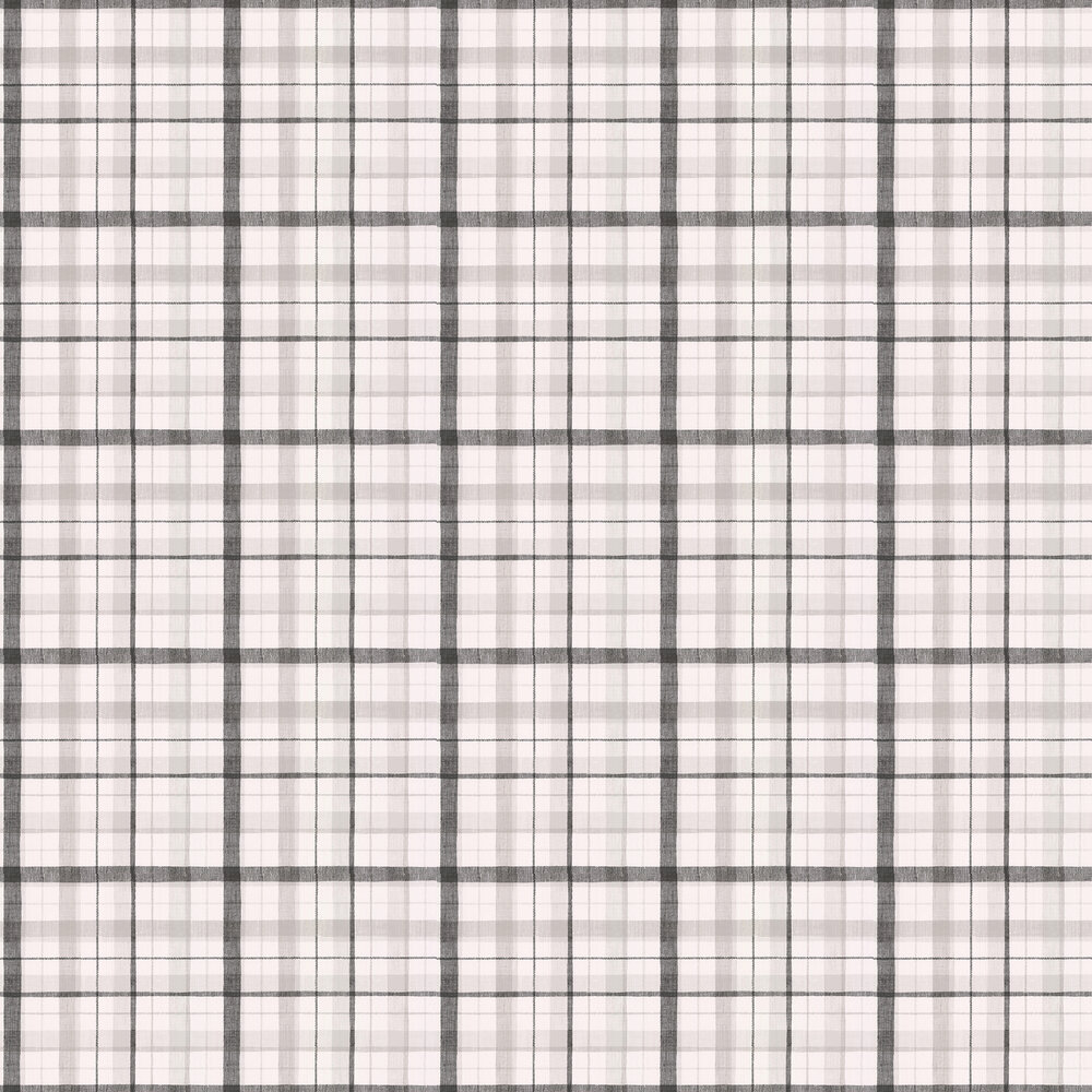 Galerie Country Check Black / Grey Wallpaper - Product code: CK36628