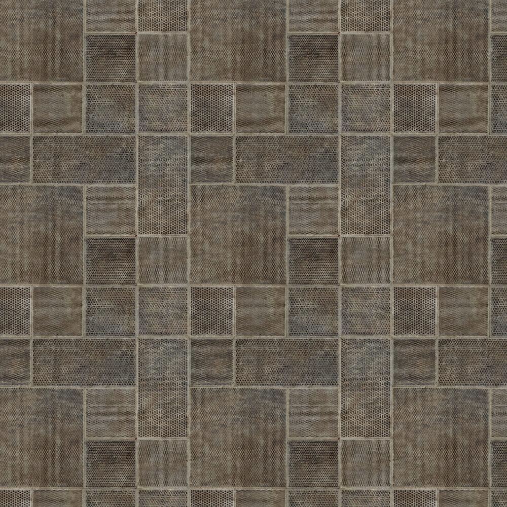 Albany Lattice Coffee Wallpaper - Product code: C88643