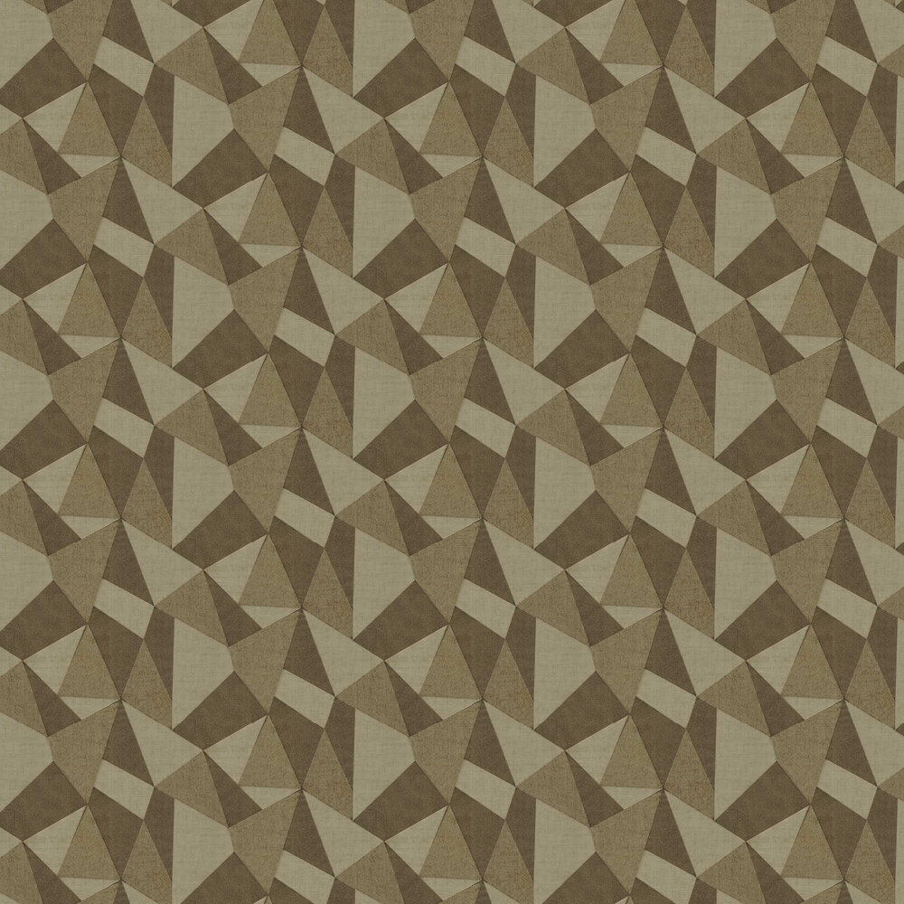 Prism Wallpaper - Gold - by Albany