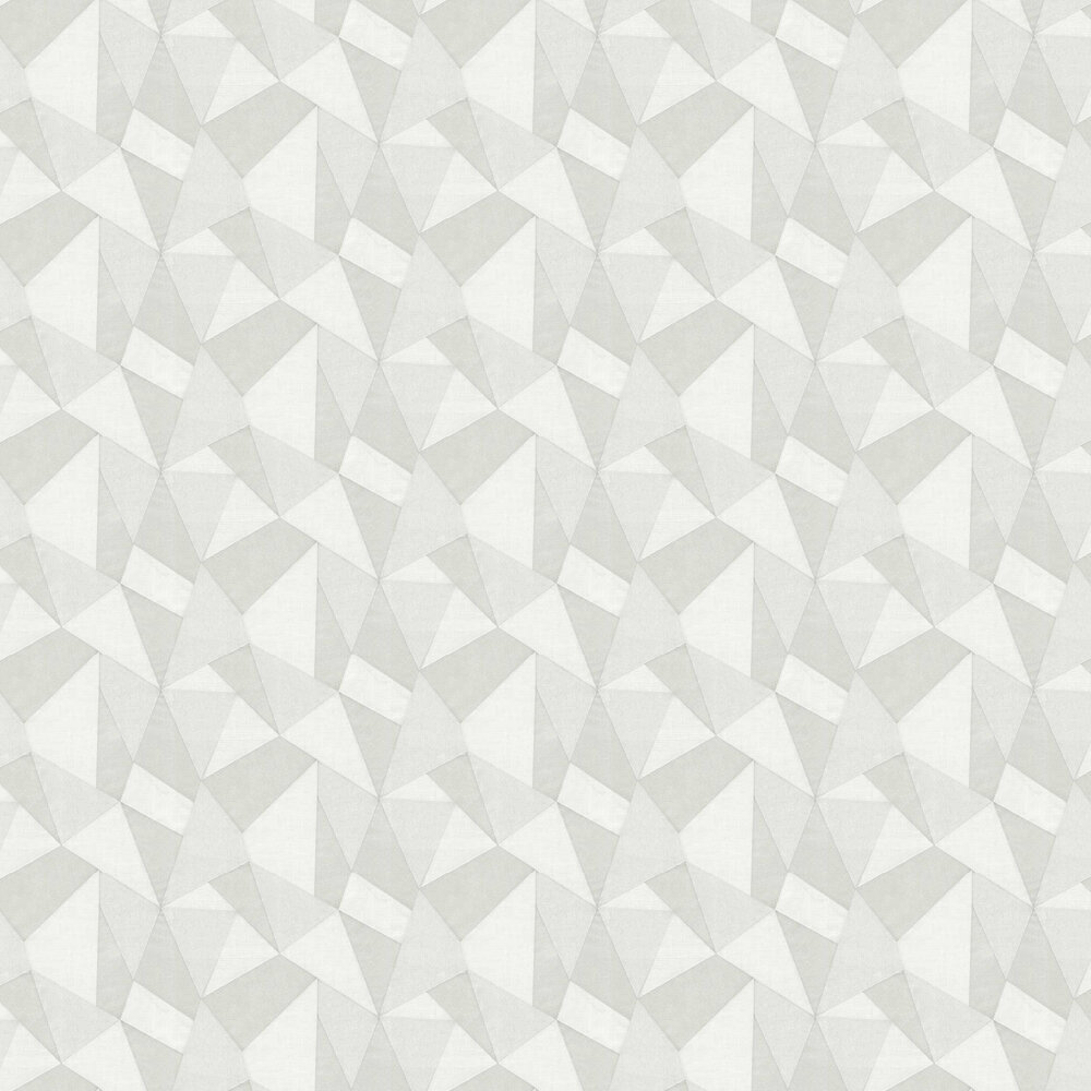 Prism Wallpaper - Light Grey - by Albany