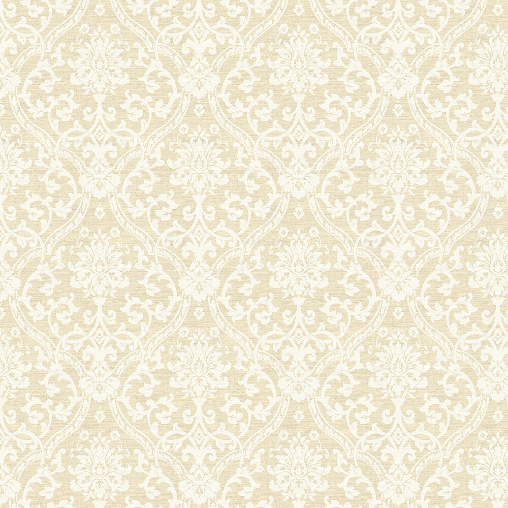 Albany Damask Sandy Wallpaper - Product code: 25011