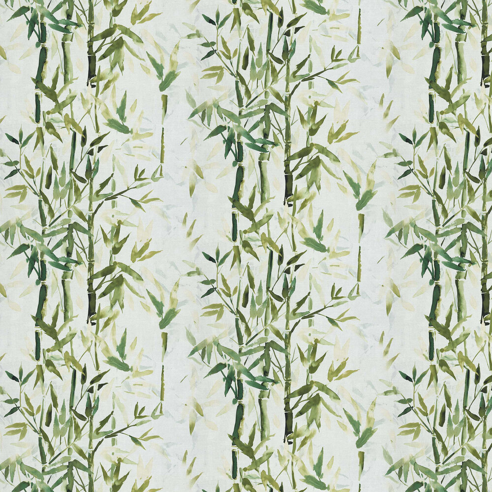 Bamboo Wallpaper - Green - by Albany