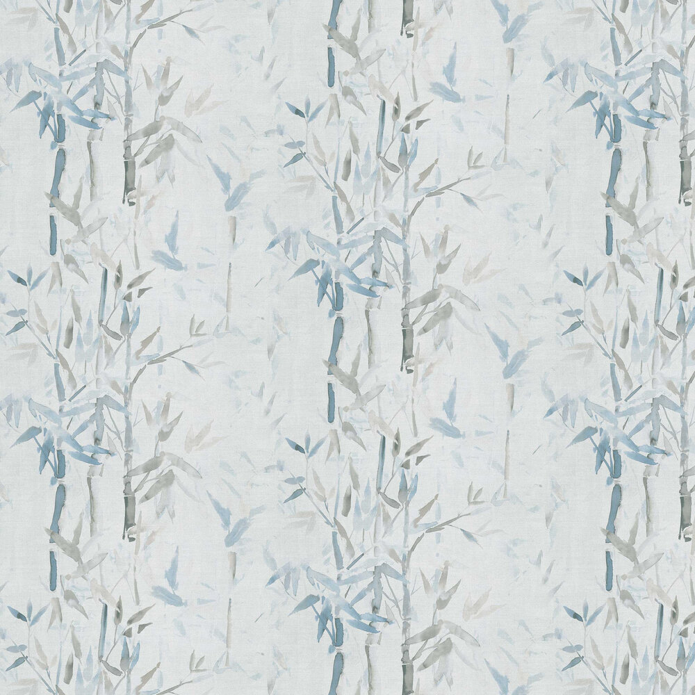 Bamboo Wallpaper - Grey - by Albany