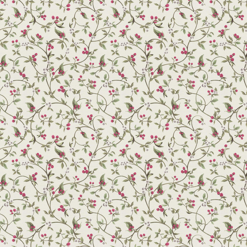 Berry Trail Wallpaper - Pink - by Albany
