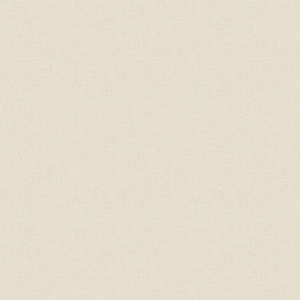 Linen Wallpaper - Warm Beige - by Albany