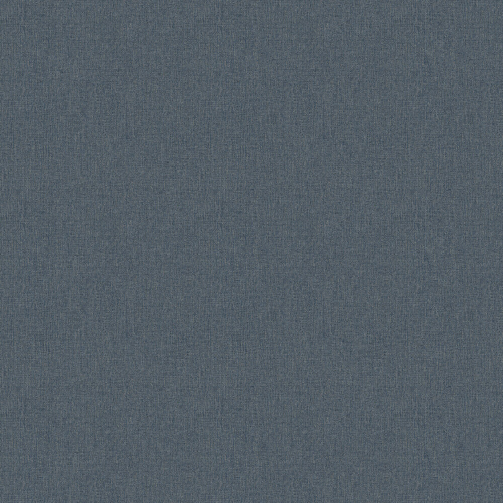 Linen Wallpaper - Navy - by Albany
