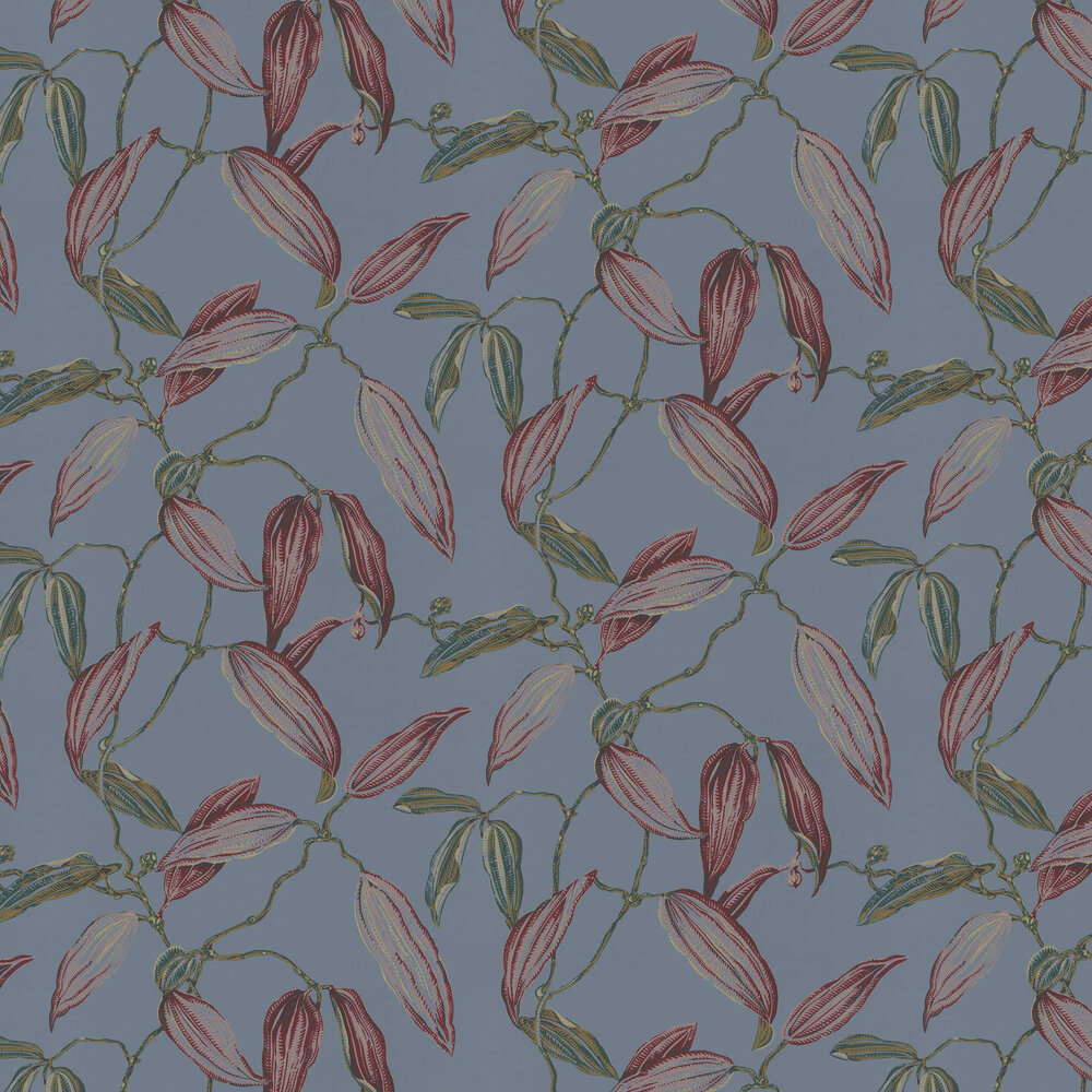Albany Cocoa Pod Blue Wallpaper - Product code: 525748
