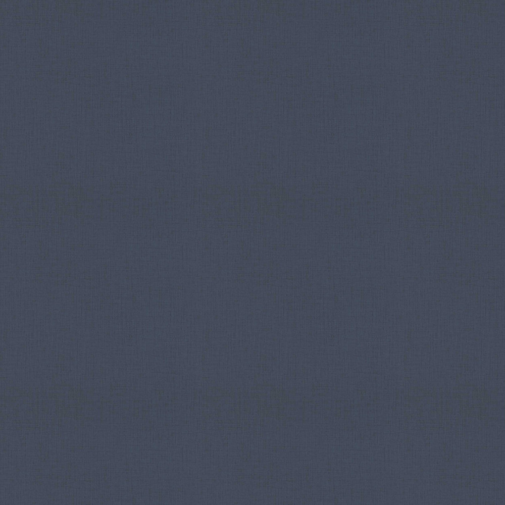 Albany Woven Plain Dark Blue Wallpaper - Product code: 524642