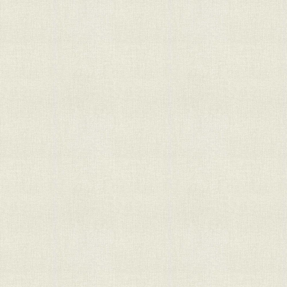 Woven Plain Wallpaper - Opal White - by Albany