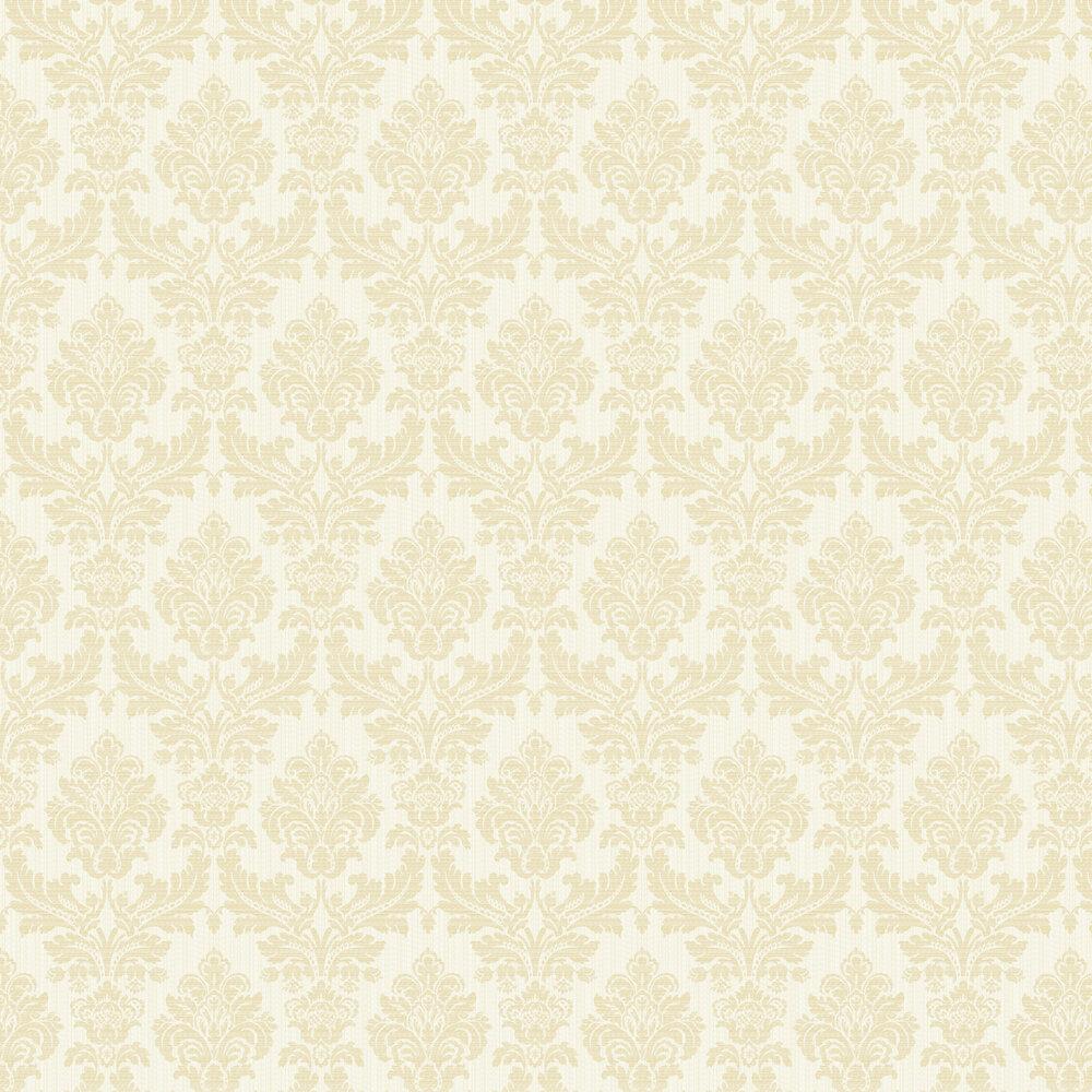 Albany Broken String Damask White / Gold Wallpaper - Product code: 25058