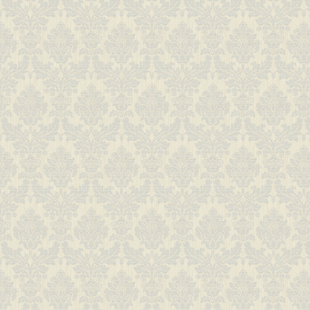 Albany Broken String Damask Off-white / Grey Wallpaper - Product code: 25059