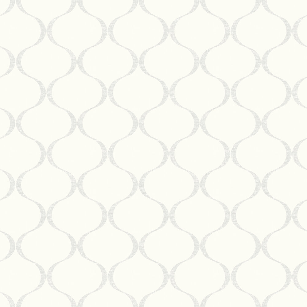 Cupola Wallpaper - White - by Engblad & Co