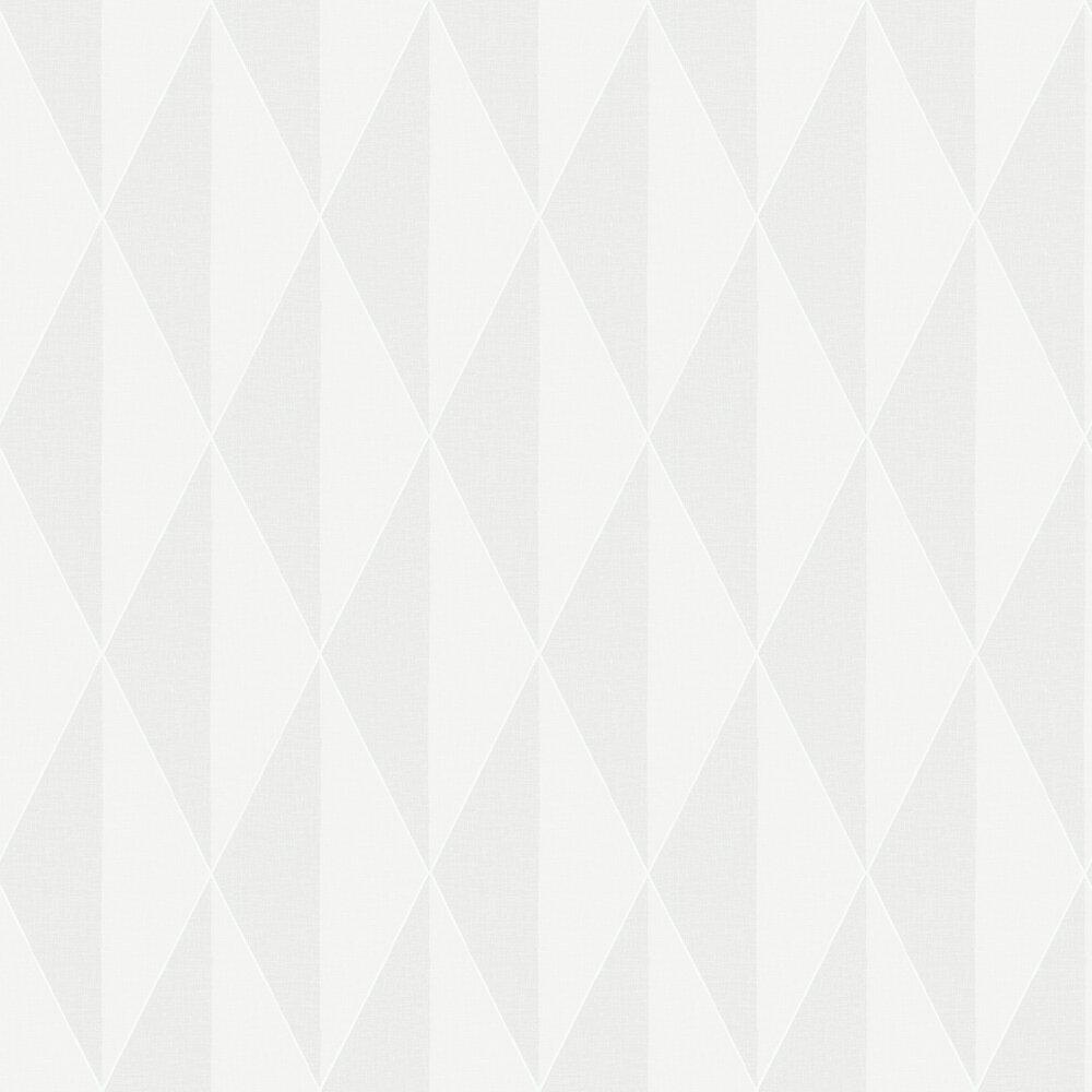 Zack L Wallpaper - Pale Grey - by Engblad & Co