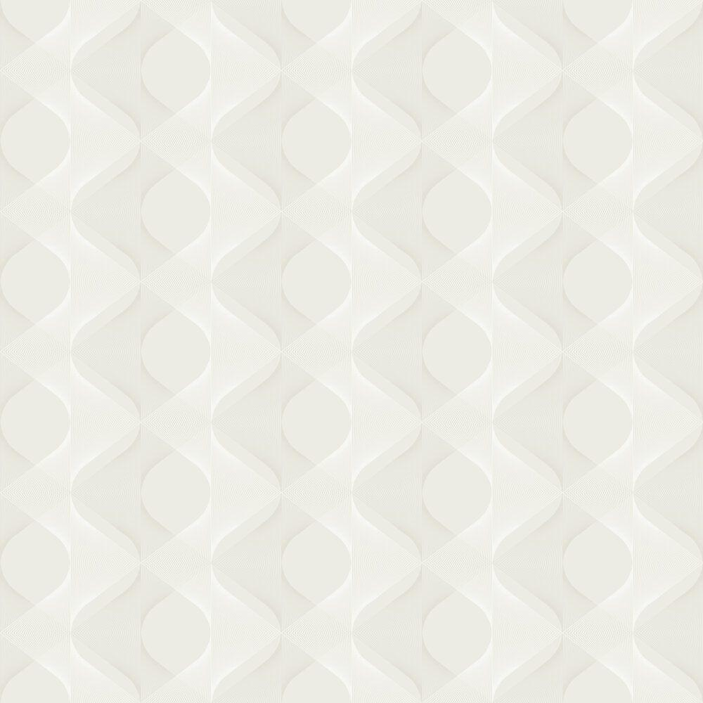 Sand Glass Wallpaper - Buttercream - by Engblad & Co