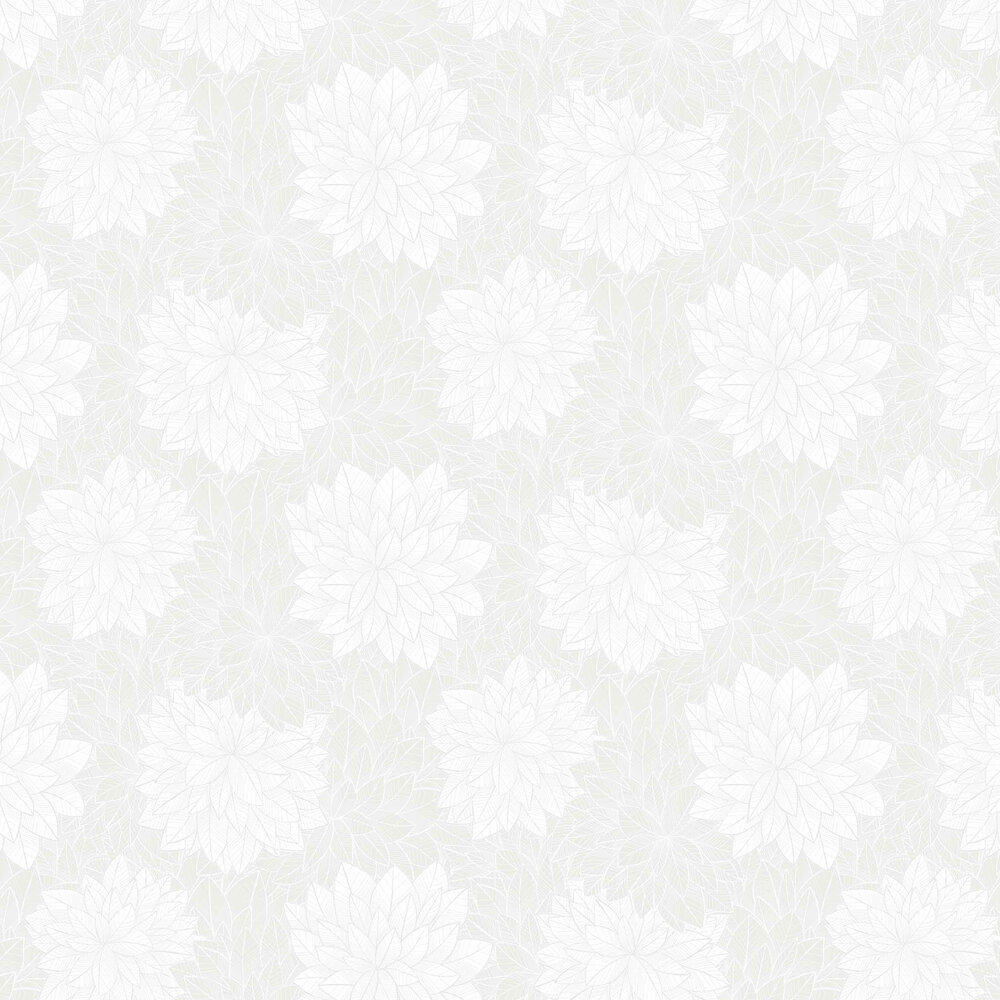 Foliage Wallpaper - White - by Engblad & Co